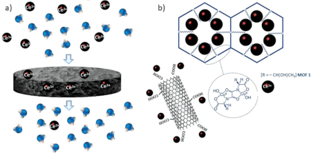Synthesis and Enhanced Capture Properties of a New BioMOF@SWCNT-BP: Recovery of the Endangered Rare-Earth Elements from Aqueous Systems (Adv. Mater. Interfaces 2021, 8 2100730)